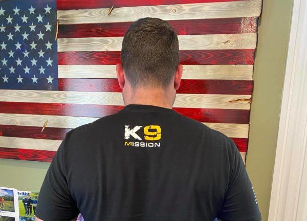 k 9 mission shirt